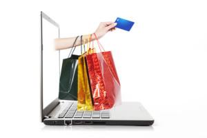 Einkaufsberatung Laptop Einkaufstasche